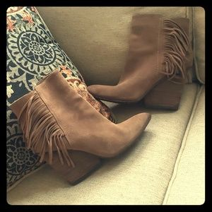 Fringed Booties - Isola brand